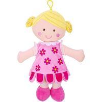Lalka szmaciana Peppi 30 cm, różowa sukienka - Beppe (5901703111541)