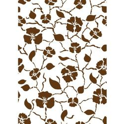 Szablon malarski, wielorazowy, wzór flora 258 - babylon (wzór powtarzalny) marki Szabloneria