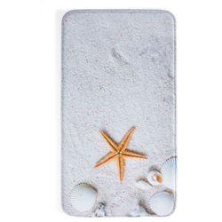 """Bonprix Dywaniki łazienkowe """"plaża"""", pianka memory kremowy"""