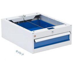 Szafka narzędziowa SOLID, do stołu roboczego, 1 szuflada, 220x520x665 mm