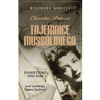 Tajemnice Mussoliniego. Pamiętnik 1932-1938., oprawa miękka