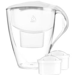 4l omega unimax dzbanek filtrujący biały + 2 filtry unimax marki Dafi