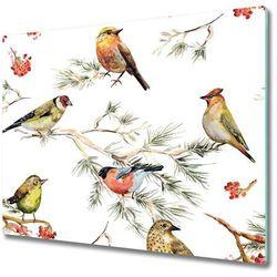 Deska do krojenia Leśne ptaki rośliny