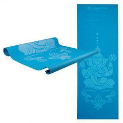 Mata do ćwiczeń inSPORTline Spirit joga, aerobik 172 x 61 cm - Kolor Niebieski, kup u jednego z partnerów