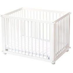 kojec sleep & play biały + materac marki Easy baby