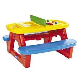 piknikowy stolik do gier z ławeczkami marki Chicco