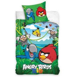 Tip Trade Pościel bawełniana Angry Birds Jungle, 140 x 200 cm, 70 x 80 cm