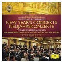 Wiener philharmoniker - new year's concerts legendary recordings, marki Deutsche grammophon