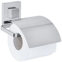 Uchwyt na papier toaletowy quadro, vacuum-loc - stal nierdzewna,  marki Wenko