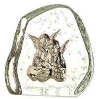 Crystal julia Skałka kryształowa aniołki z dzieciątkiem (4010) (5900341040107)