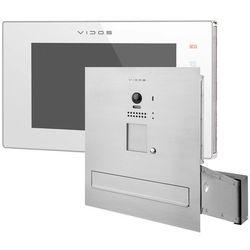 Zestaw wideodomofonu cyfrowego skrzynka na listy Vidos S1201A-SKM M1021W