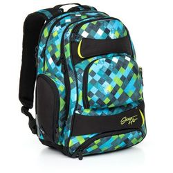 Plecak młodzieżowy  hit 869 e - green wyprodukowany przez Topgal