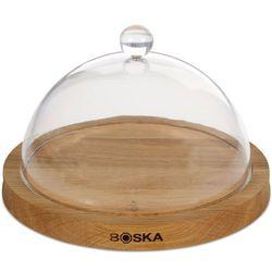 Deska okrągła z kloszem do serwowania serów Boska (BO-859002) (8713638019918)
