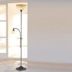 lacchino lampy stojące ciemnobrązowy, rudy, brązowy, 2-punktowe marki Wofi