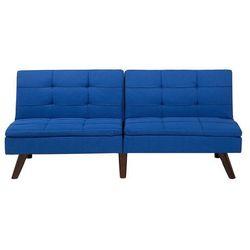 Sofa z funkcją spania kobaltowa RONNE