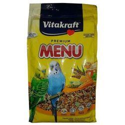 Vitakraft Menu Vital Papuga falista miód 1kg (pokarm dla ptaków)