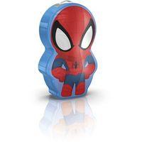 71767/40/16 - led latarka dziecięca disney spider-man 1xled/0,3w/3v marki Philips