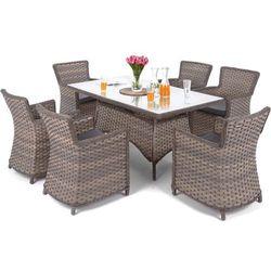 Home&garden Meble ogrodowe technorattanowe colorado brown / grey (5902425321768)