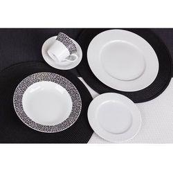 Chodzież / venus Chodzież venus black&white k244 serwis obiadowy i kawowy 30/6