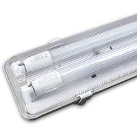 Oprawa hermetyczna świetlówkowa led podwójna 1.2m marki Aigostar