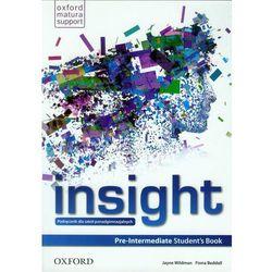 Insight Pre-Intermediate Student's Book (kategoria: Encyklopedie i słowniki)