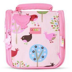 Penny Scallan Design, kosmetyczka dla Malucha, różowa w ptaszki z kategorii artykuły szkolne i plastyczne