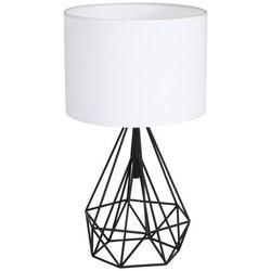 Lampka nocna Triangolo 1 x 60 W E27 IP20 czarno-biała
