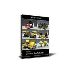 Dosch 3D: Construction Vehicles z kategorii Programy graficzne i CAD