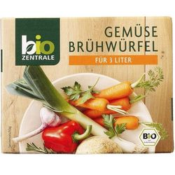 Kostki warzywne 6x10g -  eko od producenta Bio zentrale