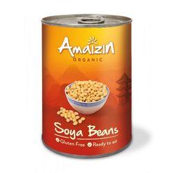 Amaizin (mleko kokosowe, tortilla, chipsy, inne) Soja konserwowa (puszka) bio 400 g - amaizin