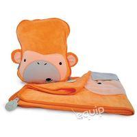 Kocyk i poduszeczka  małpka mylo - mylo marki Trunki