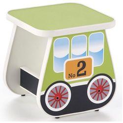 Taboret dziecięcy wagonik Milo 4X - zielony
