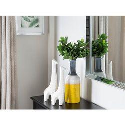Dekoracyjny wazon na kwiaty żółty/biały/szary larnaca marki Beliani