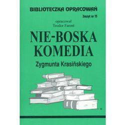 Język polski, Biblioteczka opracowań, Nie-Boska komedia Zygmunta Krasińskiego, Zeszyt nr 15, Biblios