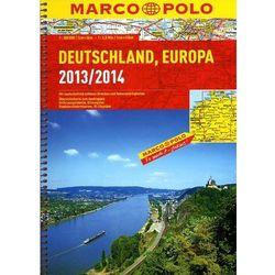 Niemcy. Atlas drogowy 1:300 000 (Marco Polo)