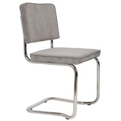 Zuiver Krzesło RIDGE KINK RIB szare 32A 1100077, 1100077