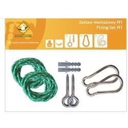 Zestaw montażowy H1_1 do hamaków, Zielony koala/zh1_1