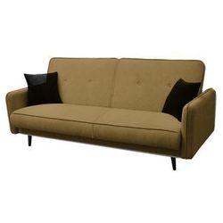 """Trendstyle Sofa """"kenia"""" rozkładana - musztardowy"""