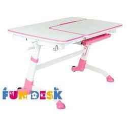 Fundesk Amare pink - ergonomiczne, regulowane biurko dziecięce - złap rabat: kod50