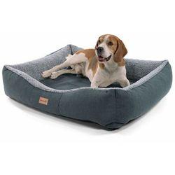 emma, legowisko/kosz dla psa, możliwość prania, antypoślizgowe, oddychające, materac dwustronny, poduszka, rozmiar m (80 x 20 x 70 cm) marki Brunolie