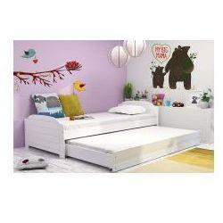 Łóżko Laura dwuosobowe 8-16 lat z materacami