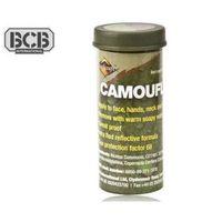 Farba do kamuflażu  bushcraft 30 g zielony/ brązowy marki Bcb