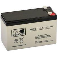 Akumulator 12V 7Ah żelowy MWS AGM