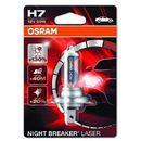 Osram h7 12v 55w px26d night breaker® laser (do +130% więcej światła, do 40m dłuższy zasięg, do +20% bielsze światło) (4052899436855)