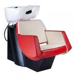 Myjnia fryzjerska nico br-7821 czerwono-kremowa wyprodukowany przez Vanity