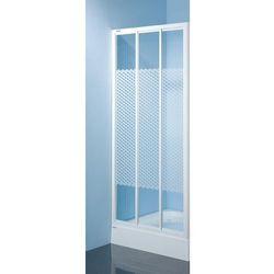 SANPLAST drzwi Classic 110 przesuwne, szkło W5 DTr-c-110 600-013-1721-01-420 z kategorii Drzwi prysznicowe