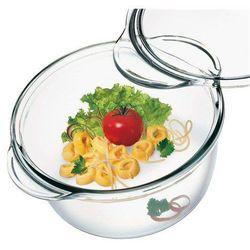 Simax Naczynie szklane okrągłe z pokrywką 2,1 l - produkt z kategorii- Brytfanny