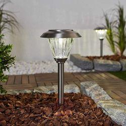 Duracell Stal nierdzewna – lampa solarna led venja, 2 szt.