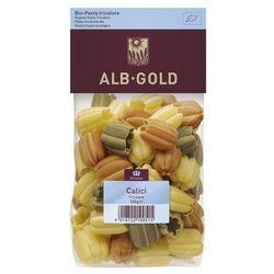 Makaron CALICI (tulipan) trójkolorowy BIO 250g - ALB GOLD, towar z kategorii: Kasze, makarony, ryże