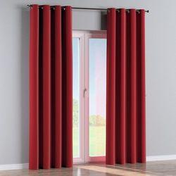 Dekoria Zasłona na kółkach 1 szt., intensywna czerwień, 1szt 130 × 260 cm, Velvet